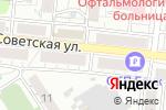 Схема проезда до компании Эдем в Барнауле
