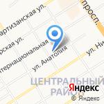 Мастерская по пошиву и ремонту обуви и одежды на карте Барнаула