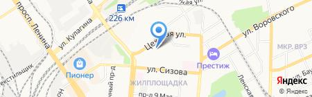 АвтоСпецСтрой на карте Барнаула
