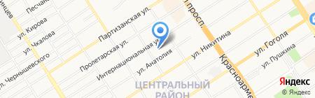 АртиМакс-В на карте Барнаула