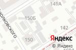Схема проезда до компании АртиМакс-В в Барнауле