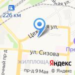 ГЕНЕРАЛЬНОЕ СНАБЖЕНИЕ на карте Барнаула