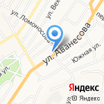 Михалыч на карте Барнаула