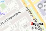 Схема проезда до компании ТНК в Барнауле