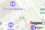 Схема проезда до компании Алтайский краевой врачебно-физкультурный диспансер в Барнауле