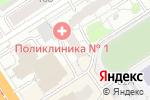 Схема проезда до компании Недвижимость Столицы в Барнауле
