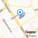 Бюро регистрации несчастных случаев на карте Барнаула