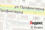 Схема проезда до компании Вертикаль в Барнауле