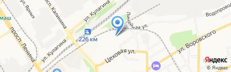 Авангард Строй на карте Барнаула