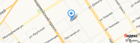 Корн-Дог на карте Барнаула