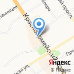 Роспечать на карте Барнаула