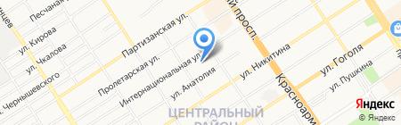 ИнвестГазСтрой на карте Барнаула