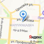 Комм-Сервис на карте Барнаула