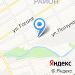 А-ЦЕНТР на карте Барнаула