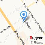 Детская музыкальная школа на карте Барнаула