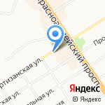 Психотерапевтический центр на карте Барнаула