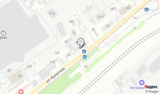 Банкомат Сбербанк России. Схема проезда в Барнауле
