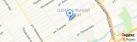 Дверь-Сервис на карте Барнаула