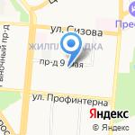Восхождение на карте Барнаула