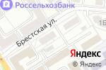Схема проезда до компании А`Стория в Барнауле