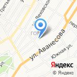 Башня на карте Барнаула