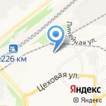 Алтай Сибтрейд на карте Барнаула