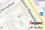 Схема проезда до компании Советник в Барнауле