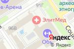 Схема проезда до компании Абсолют в Барнауле