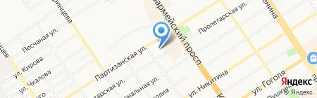 Сириус на карте Барнаула