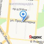 Вертикаль на карте Барнаула
