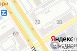 Схема проезда до компании Леди в Барнауле
