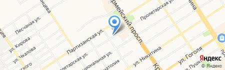 Veritas на карте Барнаула