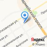Центр профессиональной медицины на карте Барнаула