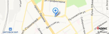 Second Hand Shop на карте Барнаула