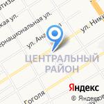 Покровский кафедральный собор на карте Барнаула
