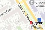 Схема проезда до компании Gardeur в Барнауле