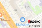 Схема проезда до компании Магазин нижнего белья и чулочно-носочных изделий в Барнауле