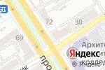 Схема проезда до компании Саквояж Классик в Барнауле