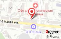 Схема проезда до компании Локрем в Барнауле