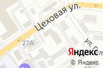 Схема проезда до компании Центр социального обеспечения Военного комиссариата Алтайского края в Барнауле
