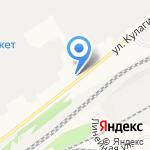 Алтайэнерго на карте Барнаула
