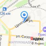 Пункт отбора на военную службу по контракту (1 разряда) на карте Барнаула