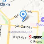 Мой дом на карте Барнаула