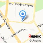 Авиафлот на карте Барнаула