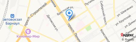 Магазин бамбукового белья на карте Барнаула