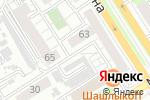 Схема проезда до компании DEMARIS в Барнауле