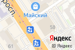 Схема проезда до компании Детский мир в Барнауле