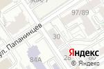 Схема проезда до компании BarBara в Барнауле