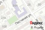 Схема проезда до компании Детская музыкальная школа в Барнауле