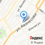 Лицей №2 на карте Барнаула